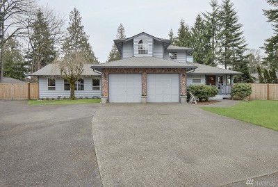 Maple Valley Single Family Home For Sale: 21027 SE 257th Place