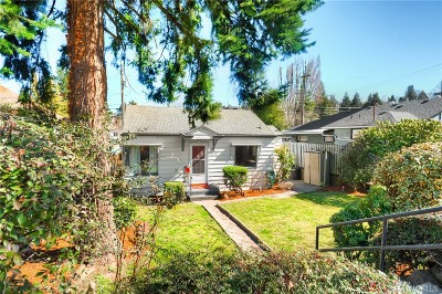 Seattle Single Family Home For Sale: 7540 16th Ave SW
