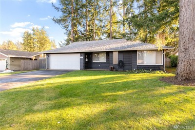 Gig Harbor Single Family Home Pending: 4114 64th St Ct NW