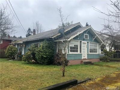 Tenino Single Family Home Pending Inspection: 197 Lincoln Ave E
