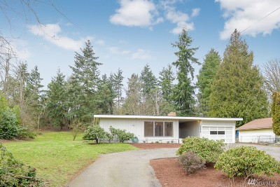 SeaTac Single Family Home For Sale: 22415 Military Rd S