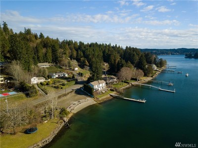 Gig Harbor Single Family Home For Sale: 3615 East Bay Dr NW