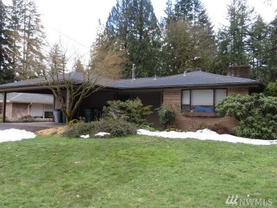 Olympia Single Family Home For Sale: 1727 Elliott Ave NW