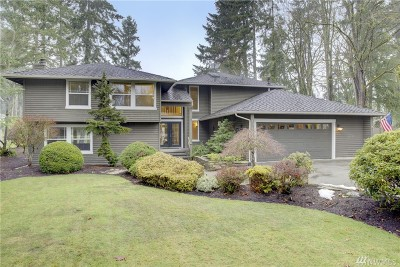 Sammamish Single Family Home For Sale: 2013 211th Ave NE