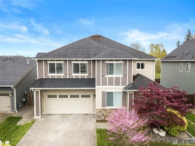 Spanaway Single Family Home For Sale: 1138 186th St Ct E