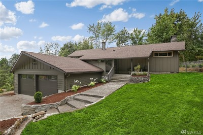 Thurston County Single Family Home For Sale: 8421 Delphi Rd SW