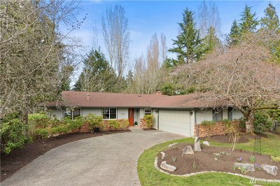 Redmond Single Family Home For Sale: 18306 NE 21st St