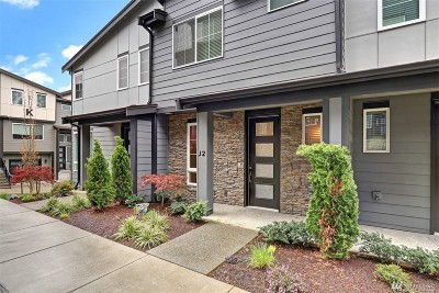 Bothell Single Family Home For Sale: 1325 Seattle Hill Rd #J2