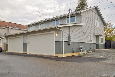 Whatcom County Multi Family Home For Sale: 1106 E Illinois St #A & B