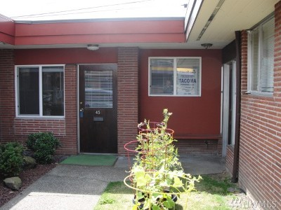 Tacoma Single Family Home For Sale: 1212 S 11th St #45