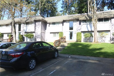 Federal Way Condo/Townhouse For Sale: 4601 SW 320th #K-7