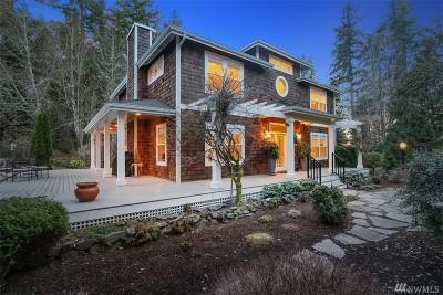 Bainbridge Island Single Family Home Pending: 7990 Hansen Rd NE