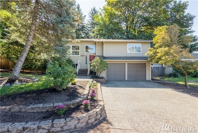 Bellevue Single Family Home Contingent: 11821 SE 67th Place