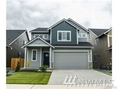 Yelm Single Family Home Pending: 9987 Jackson St SE