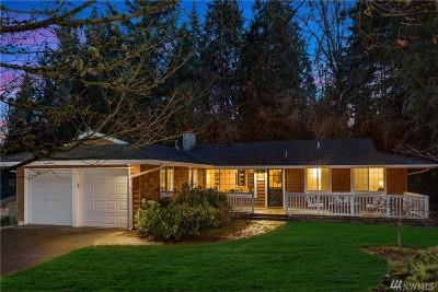 Bellevue Single Family Home For Sale: 12531 NE 32nd St
