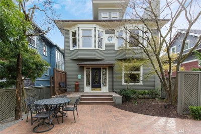 Seattle Single Family Home For Sale: 1524 17th Ave E