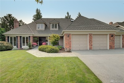Sammamish Single Family Home For Sale: 20331 NE 35th St