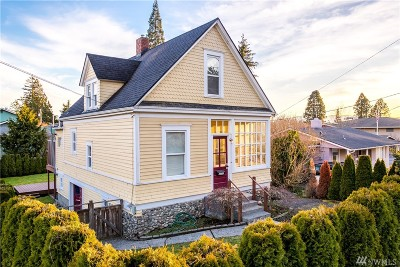 Single Family Home Sold: 1608 Harris Ave