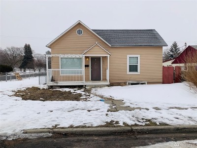 Moses Lake Single Family Home For Sale: 1003 W Rose Ave