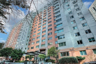 Condo/Townhouse Sold: 1400 Hubbell Place #911