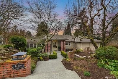 Bellevue WA Single Family Home For Sale: $1,488,000