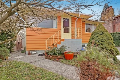 Seattle Single Family Home For Sale: 349 N 77th St