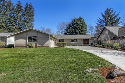 Bellevue Single Family Home For Sale: 1822 172nd Place NE