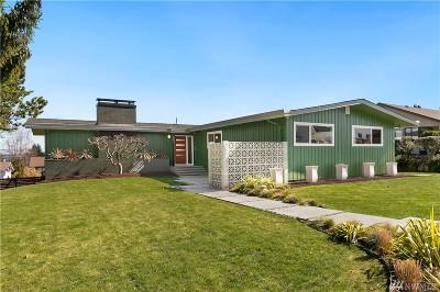 Tacoma Single Family Home For Sale: 4333 N Lexington