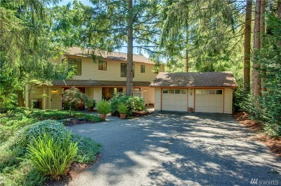 Mercer Island Single Family Home For Sale: 9325 SE 57th St
