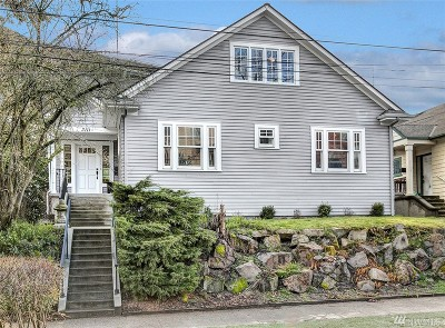 Seattle Single Family Home For Sale: 3111 Franklin Ave E
