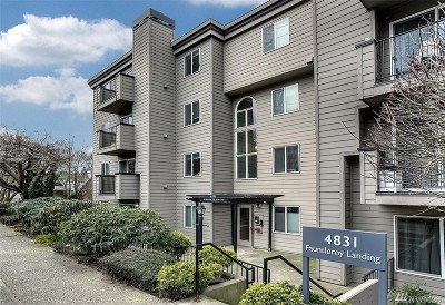 Seattle Condo/Townhouse For Sale: 4831 Fauntleroy Wy SW #107