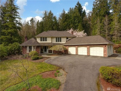 Issaquah Single Family Home For Sale: 21036 SE 132nd St