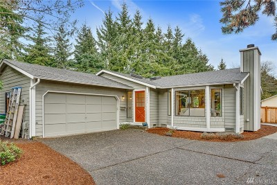 Kirkland Single Family Home For Sale: 12443 86th Place NE