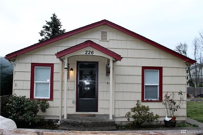 Shelton Single Family Home Pending Inspection: 226 S Ninth St