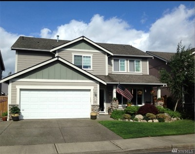 Lacey Single Family Home Pending: 4217 Alabaster Lane SE