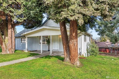 Tukwila Single Family Home For Sale: 4464 S 158th St