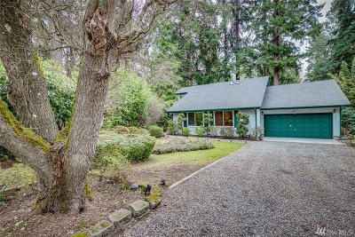 Poulsbo Single Family Home For Sale: 15905 Nesika Bay Rd NE