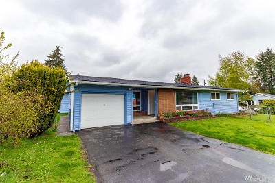 SeaTac Single Family Home For Sale: 3814 S 185th St