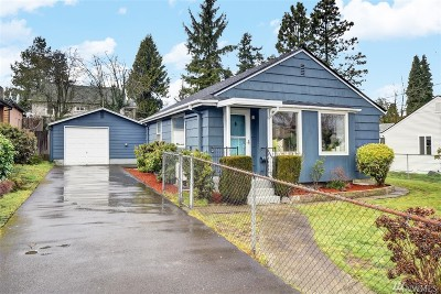 Seattle Single Family Home For Sale: 10653 1st Ave SW