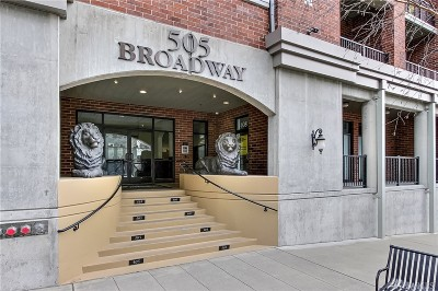 Pierce County Condo/Townhouse For Sale: 505 Broadway #602