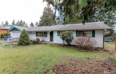 Puyallup Single Family Home For Sale: 15501 100th Ave E