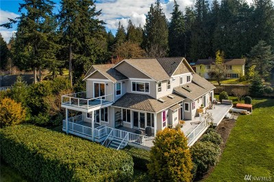 Langley Single Family Home Pending: 4260 Wilkinson Farm Lane
