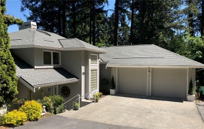 Issaquah Single Family Home For Sale: 1285 Wildwood Blvd SW