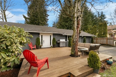 Issaquah Single Family Home For Sale: 4552 186th Ave SE