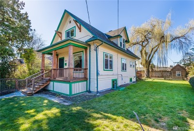 Seattle Single Family Home For Sale: 8627 Wabash Ave S