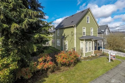 Snohomish Multi Family Home Contingent: 126 Maple Ave