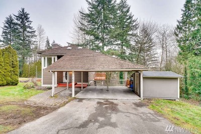 Bothell Single Family Home For Sale: 21625 4th Ave SE