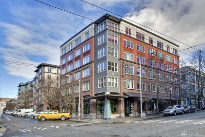 Seattle Condo/Townhouse Sold: 1610 Belmont Ave #603
