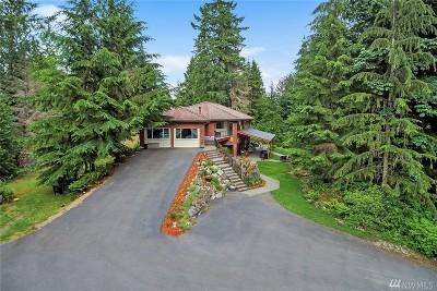 Granite Falls Single Family Home For Sale: 8519 Skinner Rd