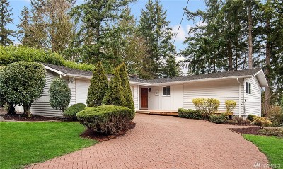 Bellevue Single Family Home For Sale: 120 128th Ave SE